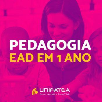 Confira a nova matriz curricular do curso de Pedagogia com formação em 1 ano!