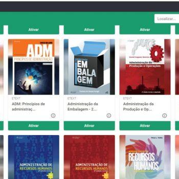 Biblioteca Digital do UNIFATEA oferece variedade de títulos e atende alunos da graduação e pós-graduação