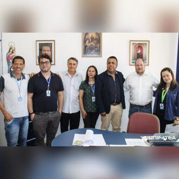 Profº Cristopher Sippel da Universidade de Findlay/EUA visita UNIFATEA e reforça parceria acadêmica