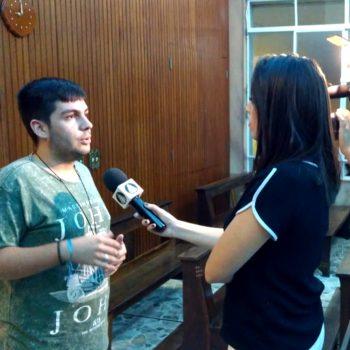 Pastoral Universitária UNIFATEA é tema de matéria na TV APARECIDA