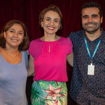 """Aula Magna do curso de Estética e Cosmética e do curso de Farmácia fala sobre a """"Saúde em Gotas"""""""