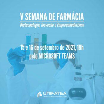 É aluno de farmácia? Confira a programação da V Semana de Farmácia: Biotecnologia, Inovação e Empreendedorismo