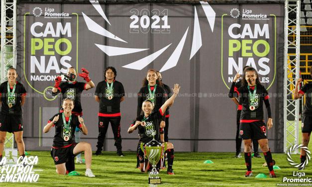 Liga Deportiva Alajuelense campeón del Torneo de Apertura 2021