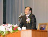 講演する浅川勇男先生 | 世界平和統一家庭連合 News Online