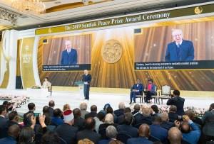 第3回鮮鶴平和賞授賞式で開会の辞|世界平和統一家庭連合News Online