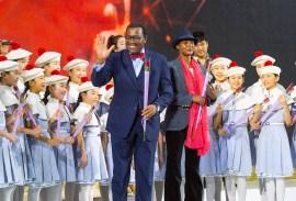 第3回鮮鶴平和賞授賞式の祝賀公演の様子|世界平和統一家庭連合News Online