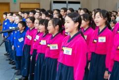 2019鮮鶴奨学証書授与式及び奉仕賞授賞式 ジュニア奨学生たちが韓鶴子総裁に感謝の歌|世界平和統一家庭連合News Online