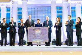 天地人真の父母様ご聖誕および基元節6周年勝利記念・神統一韓国国民連合出征式 米国から礼物 世界平和統一家庭連合News Online
