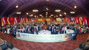 2019神アメリカACLC特別総会の全体記念写真|世界平和統一家庭連合News Online
