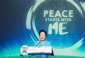 神アメリカ希望前進大会で韓鶴子総裁がみ言|世界平和統一家庭連合News Online