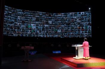 第2回神統一世界安着のための100万希望前進大会での韓鶴子総裁による特別講演|世界平和統一家庭連合News Online