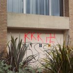 KKK and swastika graffiti appear on University of Kent building