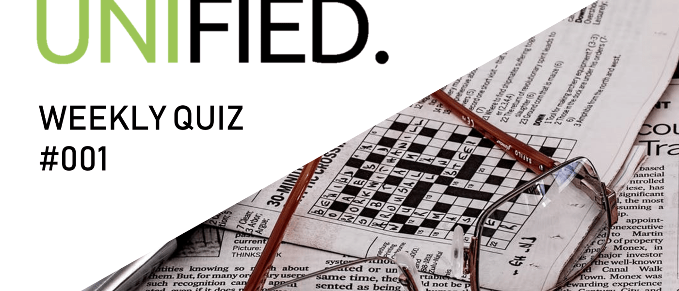 UNIfied Weekly Quiz / #001