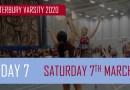 Varsity Day Seven: Park Run, Netball, Swimming, Sitting Volleyball and Basketball