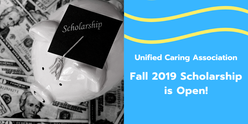 Fall 2019 Scholarship is Open
