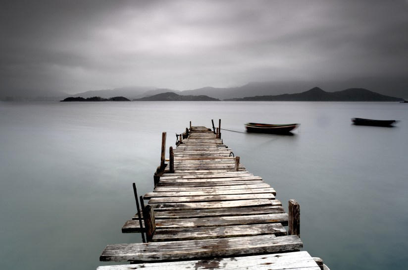pier over water indicating grief  - Gift of Engaging with our Grief
