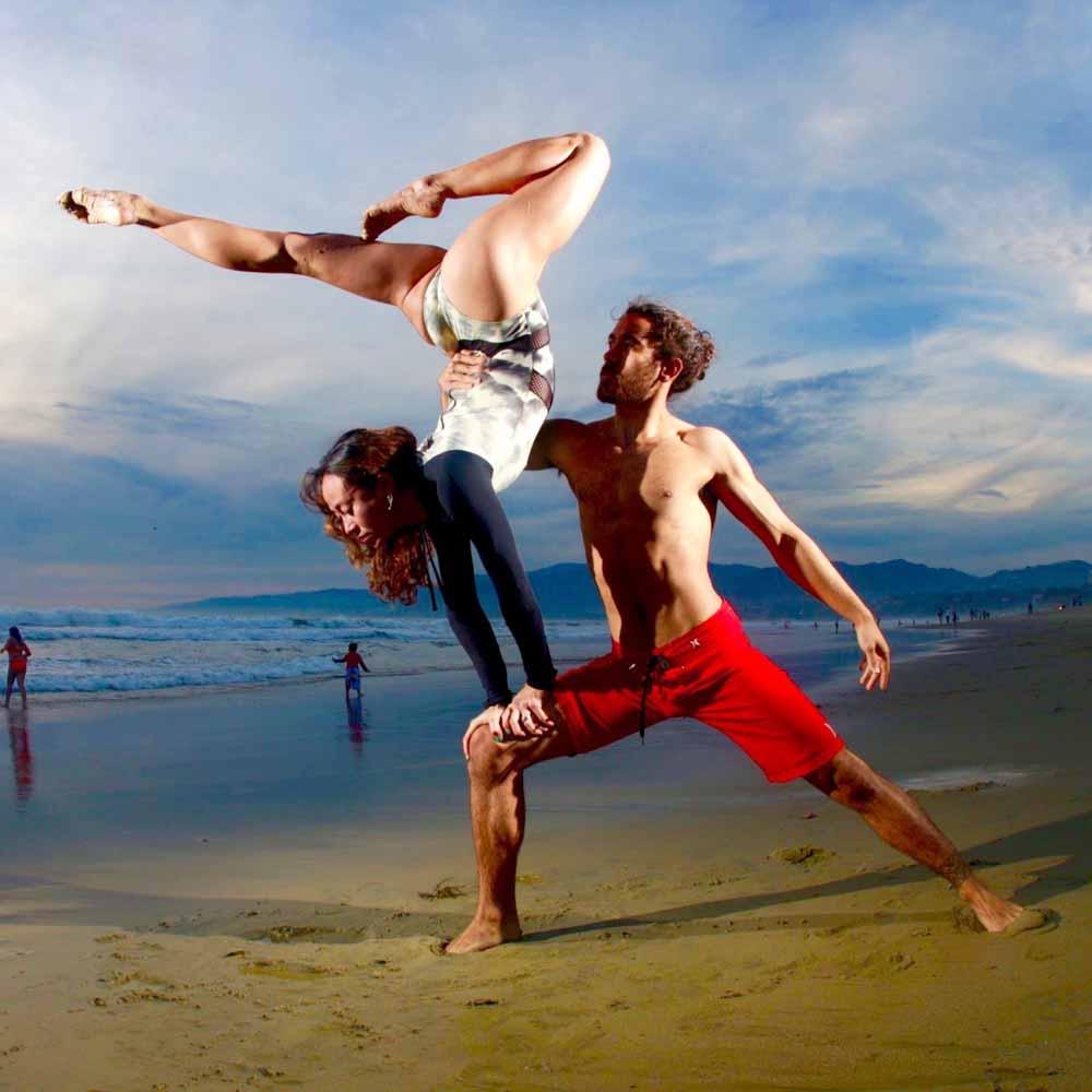 Balancing Act Couple San Diego