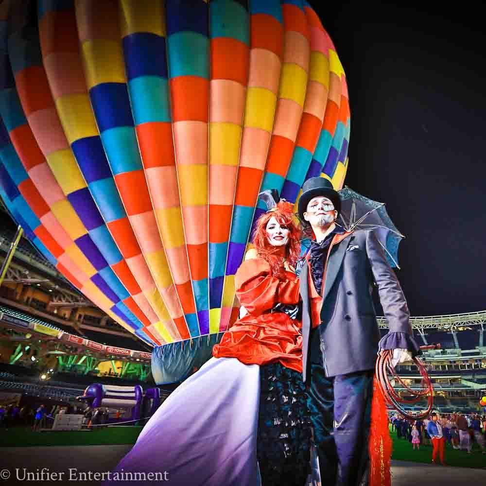 Circus Hot Air Balloon