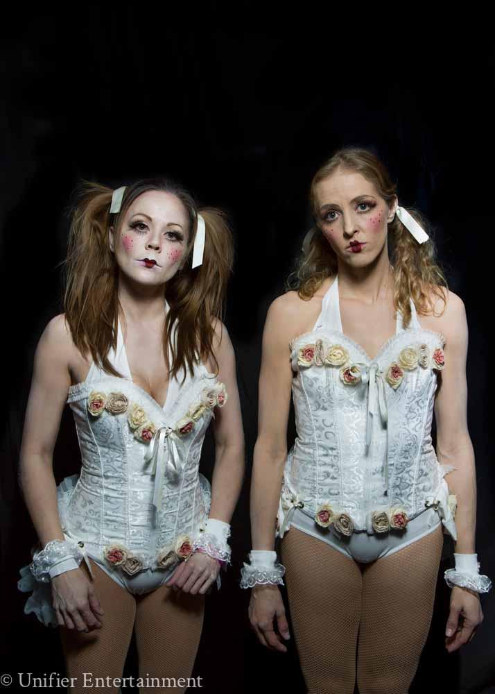 Creepy Doll Twins Performers