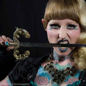 Famous Sword Swallower Sideshow