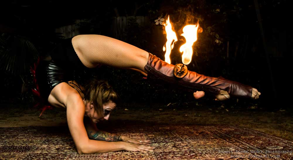 Fire Contortionist Los Angeles