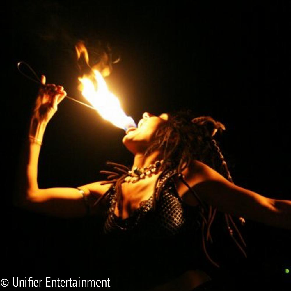 Fire Eating Lady Los Angeles