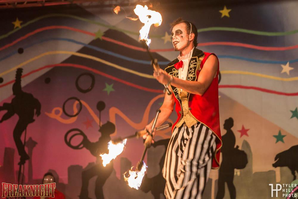 Fire Juggling San Diego