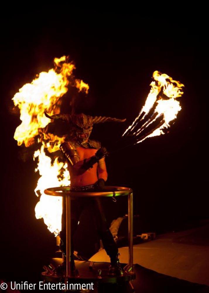 Fire Monster Performer