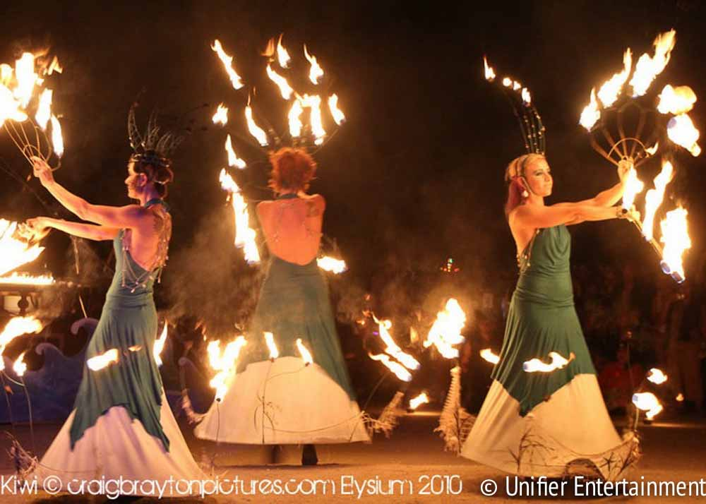 Fire Sirens Corporate Entertainment