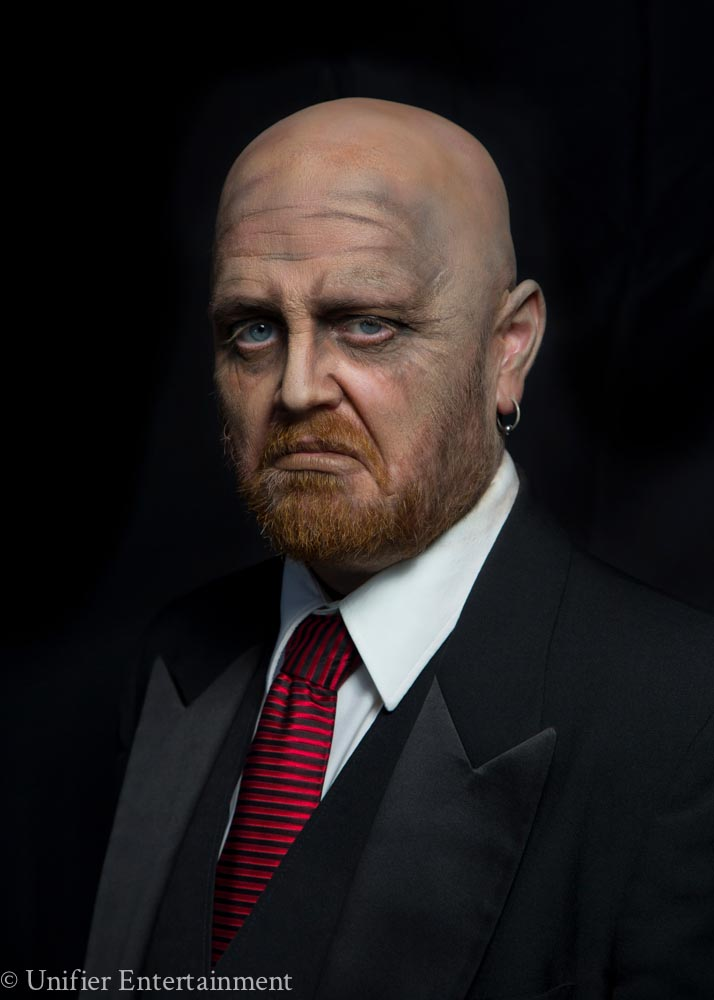 Halloween Makeup Butler