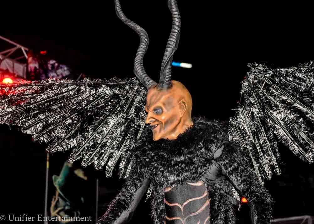 Krampus Costume Performer