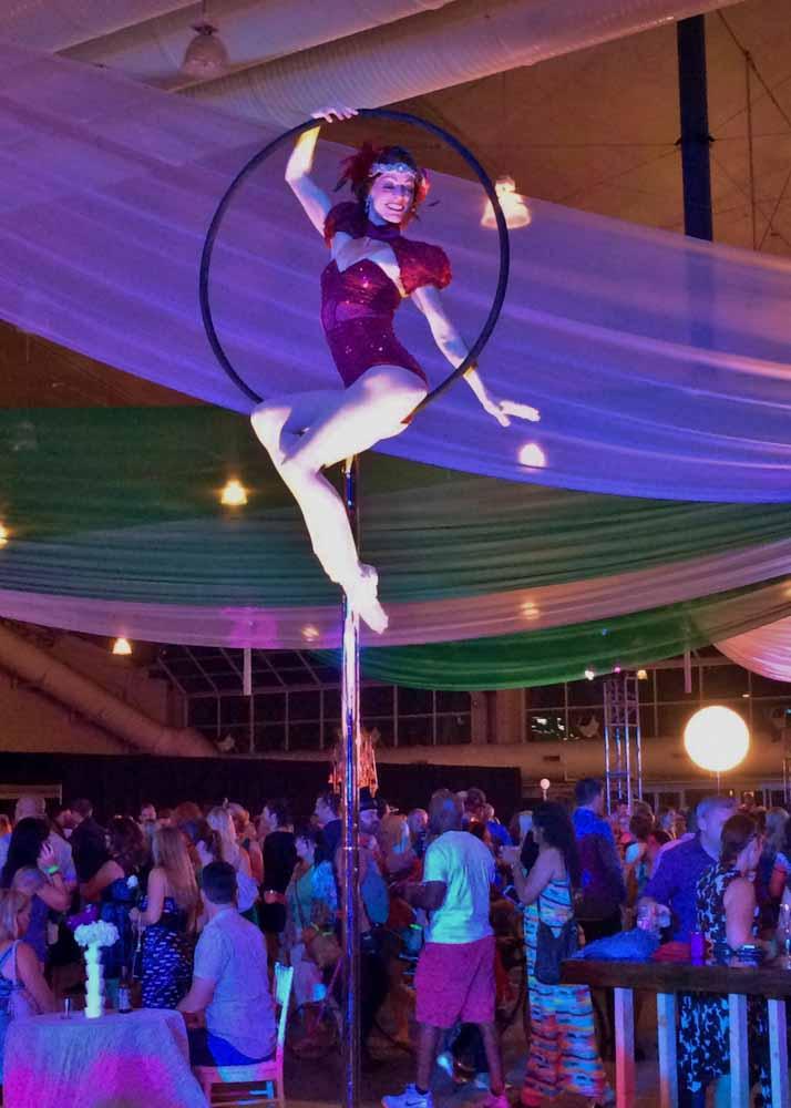 Lyra Hoop Aerial San Diego