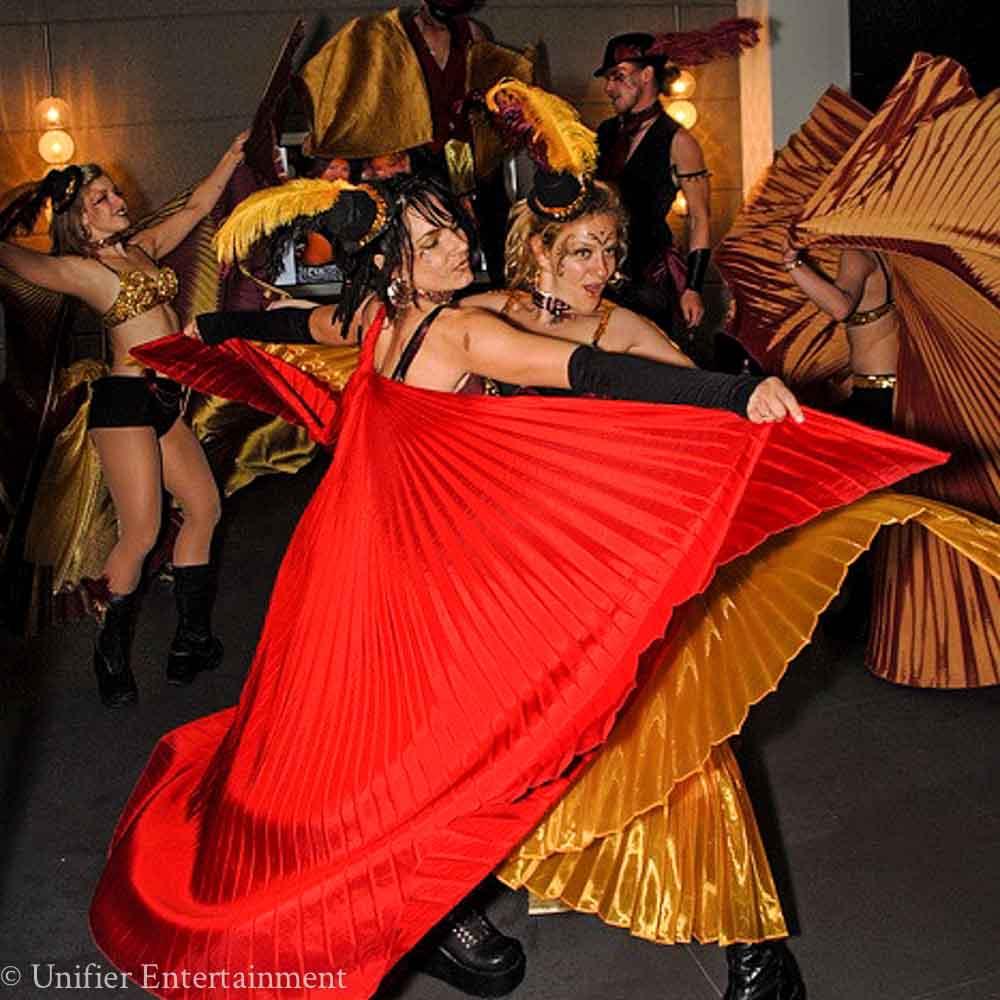 Mardi Gras Dancers