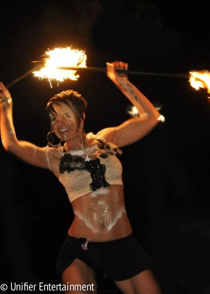 Sexy Fire Dancer San Diego