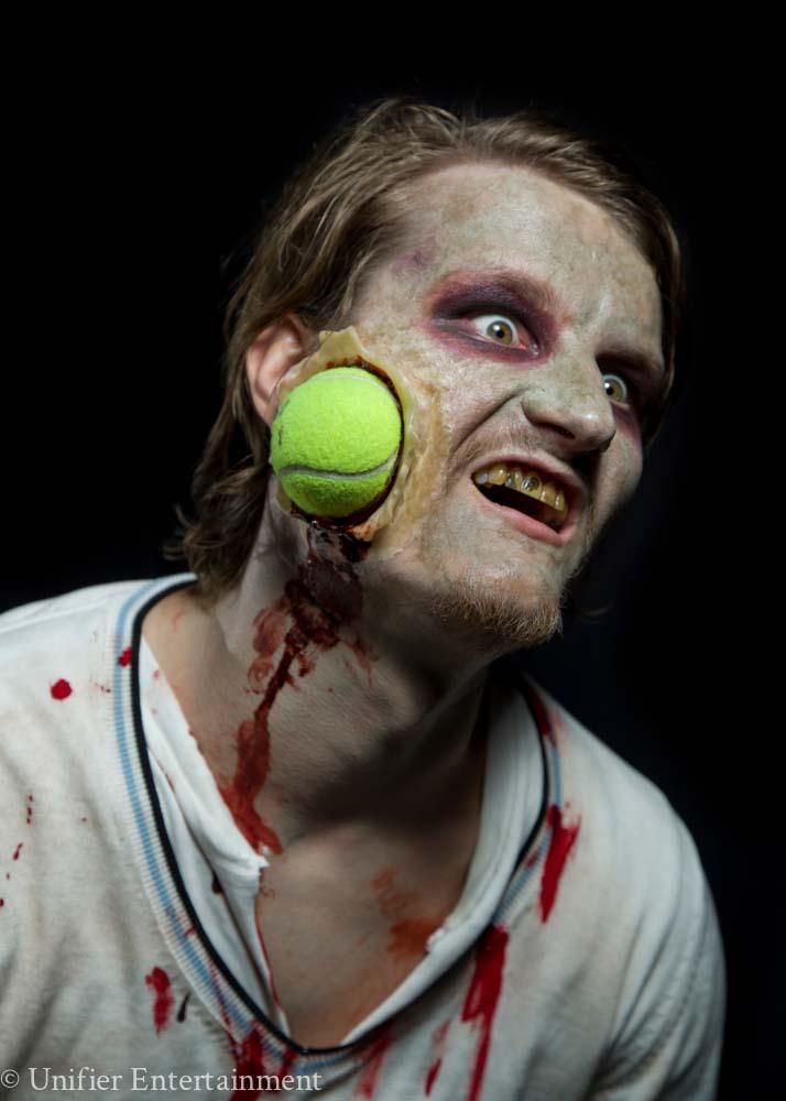 Tennis Ball Face Zombie