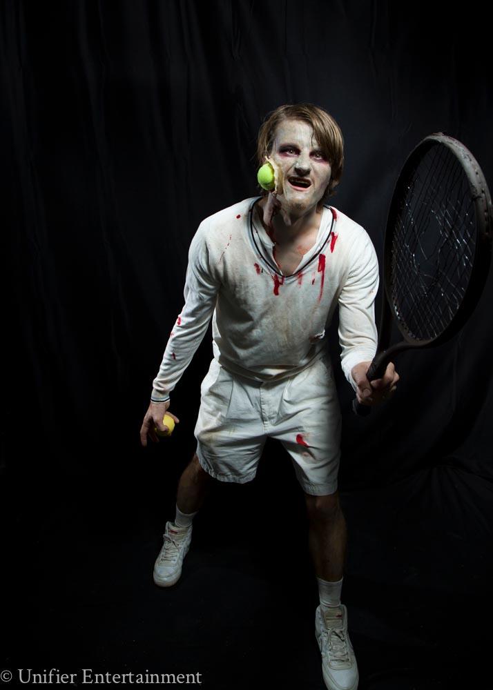 Walking Dead Tennis Zombie Performer