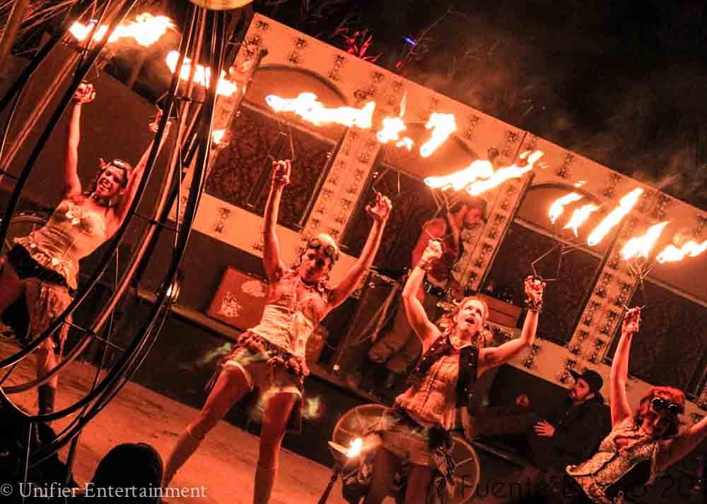 Wild West Fire Dancing