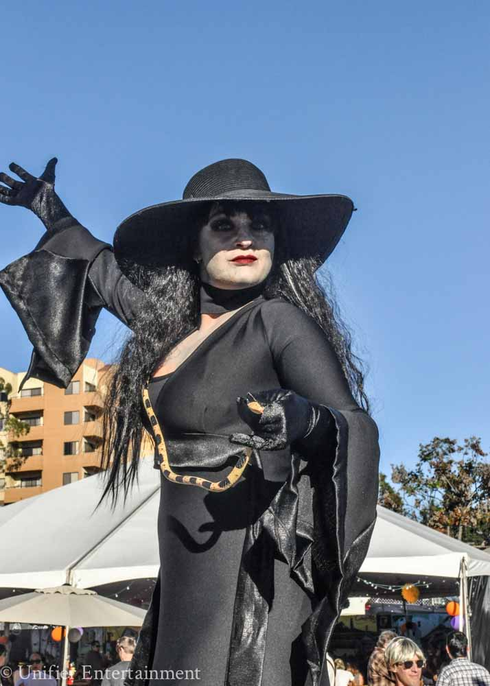 Witch Costume Stilts