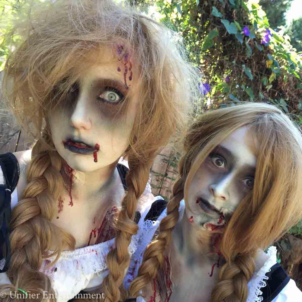 Zombie Beer Garden Girls Performers