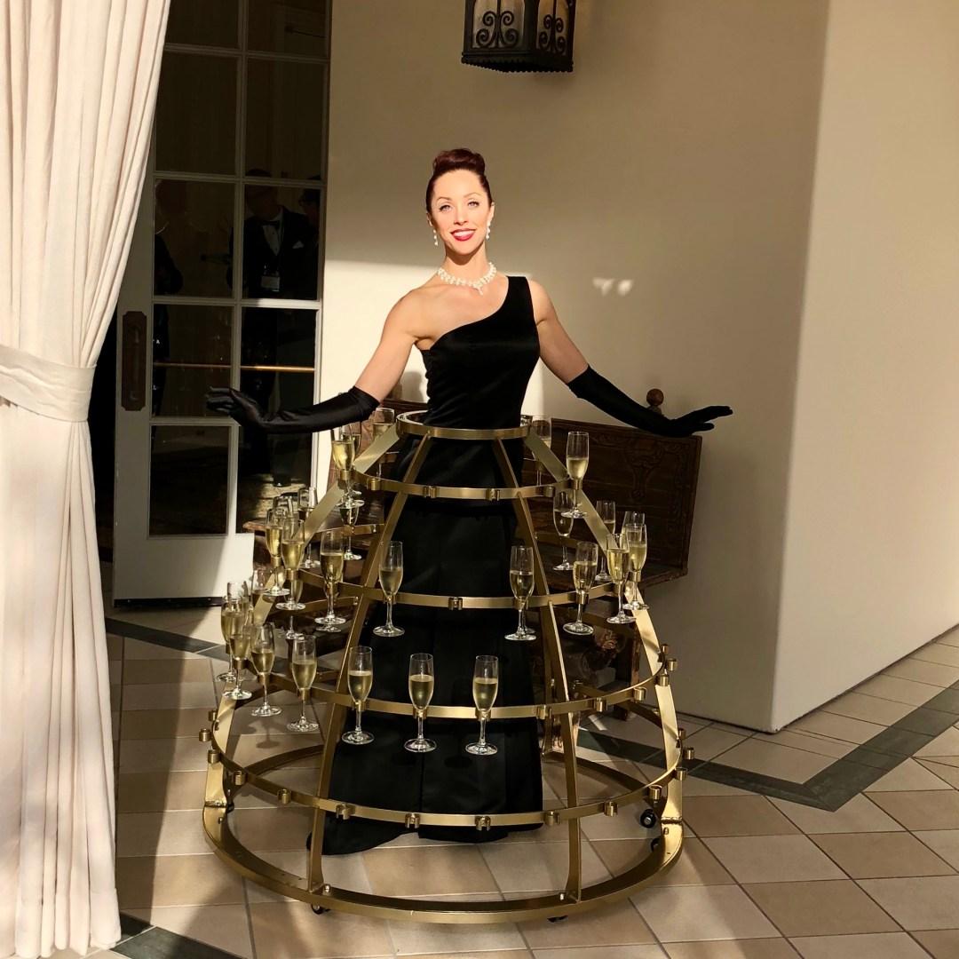 Champagne Skirt Diva