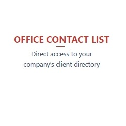 Office Contact List