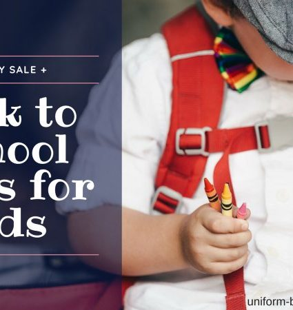 Labor Day Sale + Back to School Savings for Kids