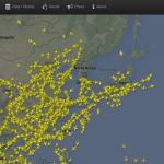 Flightradar24 在 Google Maps 上顯示即時航班資訊