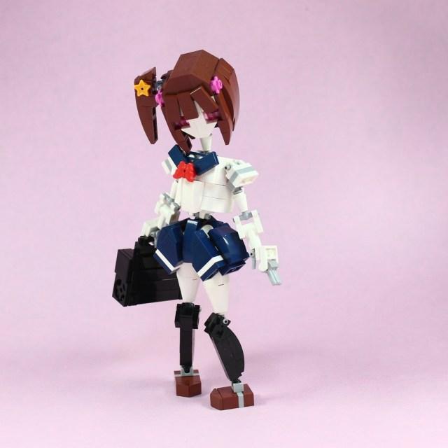 樂高制服少女