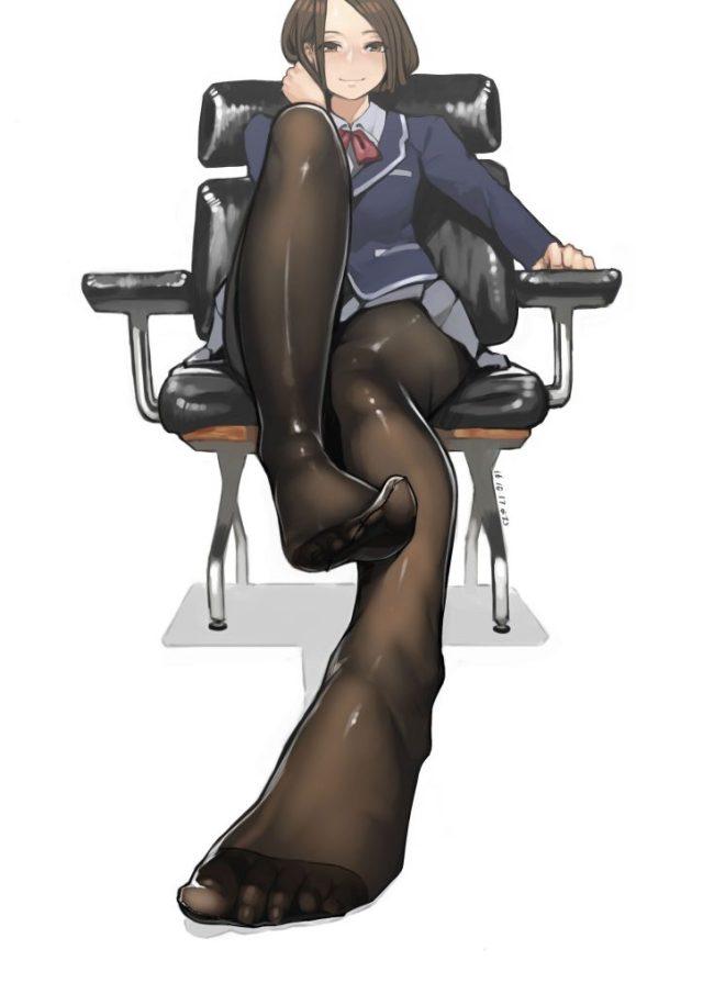 坐在椅子上的女王