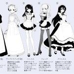 女僕裝的種類與沿革