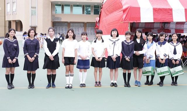 台南女中百年制服