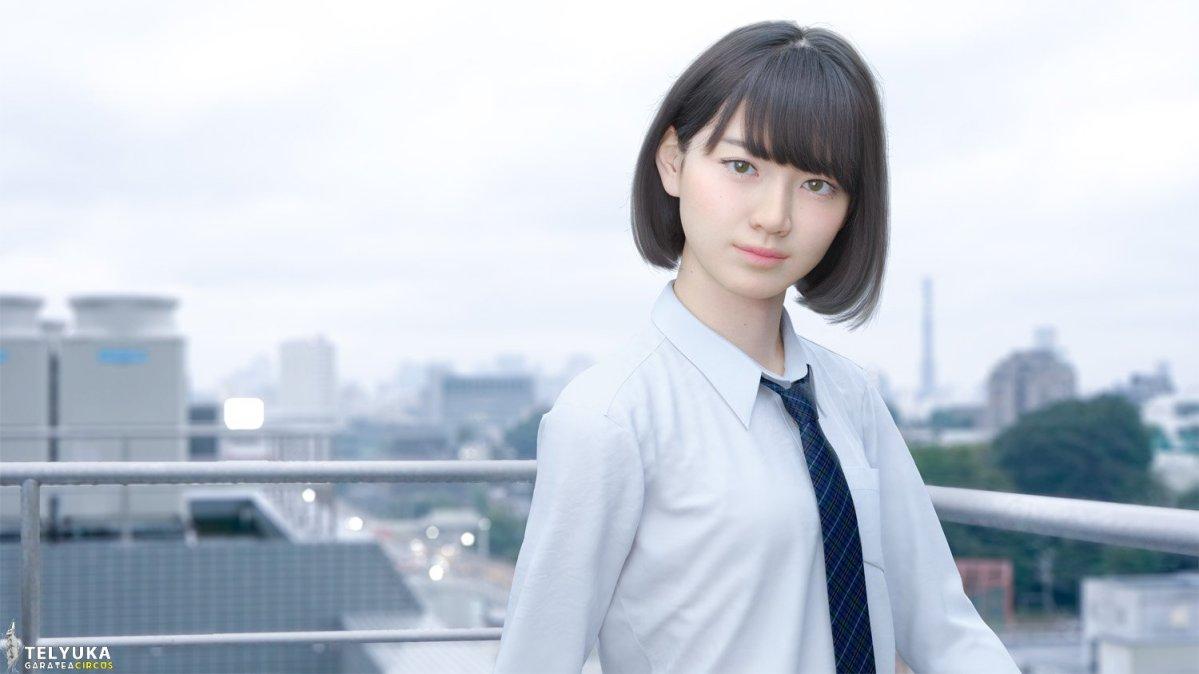 AI 虛擬女高中生「Saya」加入了表情辨識的 AI 技術