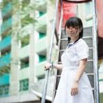 【Saki in HK School Uniform Vol.4】美林村2015 裘錦秋中學(元朗) (MD:Saki 小崎,攝影:楊聰聰攝影速報)