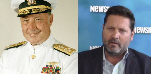 Uniformed Services League presents Admiral James Lyons and Michael Pregent, as its speakers at the January 27, 2016 Freedom Leadership Conference to speak about movie 13 HOURS: The Secret Soldiers of Benghazi (photo right).